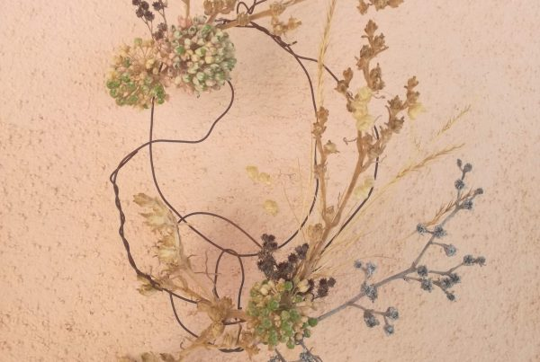 ghirlanda floreale decorativa estiva