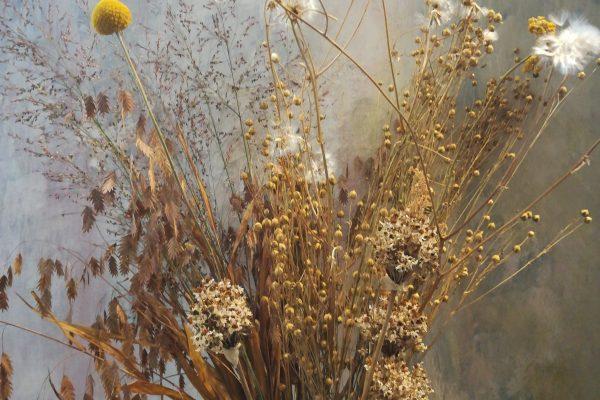 Mazzo di fiori secchi